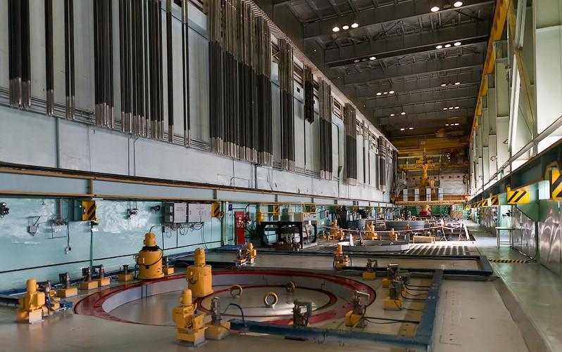 La salle des réacteurs